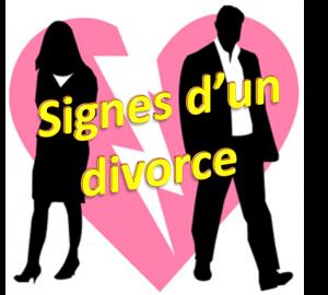 signes d'un divorce