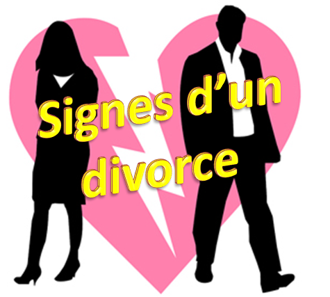 signes d'un divorce