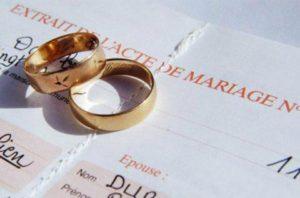 désengagements mariage