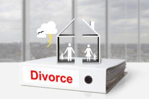 divorce et maison